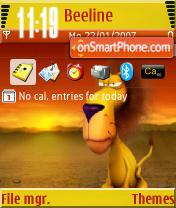 Lion A Theme-Screenshot