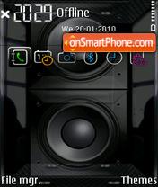 Subsonic FP1 yI Theme-Screenshot