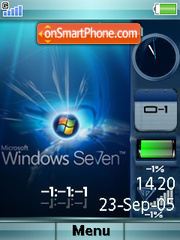 Windows-7 es el tema de pantalla