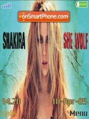 Shakira She Wof es el tema de pantalla