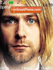 Kurt Cobain tema screenshot