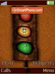 Traffic Light es el tema de pantalla