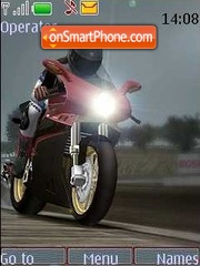 Moto theme screenshot