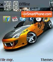 Race Car theme screenshot