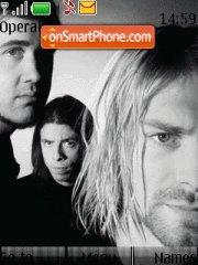 Скриншот темы Nirvana theme