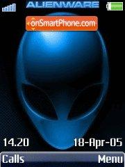 Alien theme screenshot