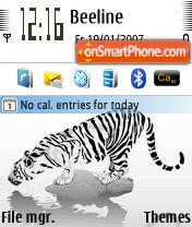 Striped es el tema de pantalla