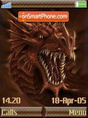 Dragon theme screenshot