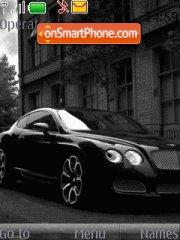 Black Bentley theme screenshot