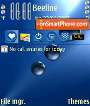 Abstract for n 80 theme screenshot