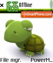3d Turtle es el tema de pantalla