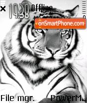White Tiger 06 es el tema de pantalla