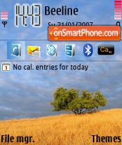 Meadow theme screenshot