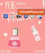 4girl Theme-Screenshot