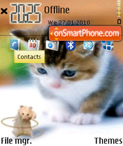 Cat and Mouse theme screenshot
