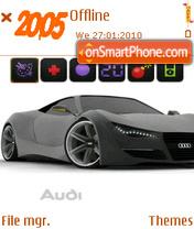 Audi New theme screenshot