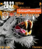 Tiger Roar theme screenshot