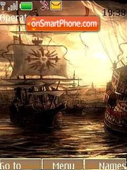 Ship theme screenshot
