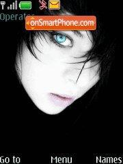 Gothic girls theme screenshot