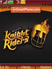 Kolkata Knight Rider 01 theme screenshot