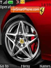 Ferrari Wheel 01 tema screenshot