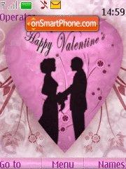 Happy Valentines Day 05 theme screenshot