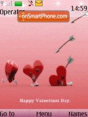 Скриншот темы Valentines day 05