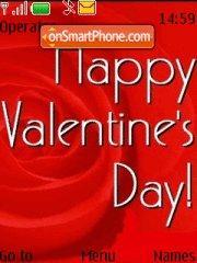 Скриншот темы Valentines Day 06