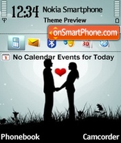 Love 2012 theme screenshot