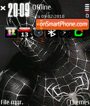 Spider man v2 by Altvic es el tema de pantalla