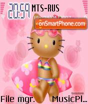 Hello Kitty 1 es el tema de pantalla