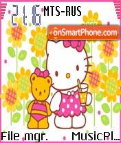 Hello Kitty 7 theme screenshot