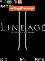 Lineage theme screenshot