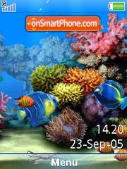 SWF Aquarium+Mmedia es el tema de pantalla