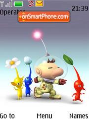 Cartoon Alpha theme screenshot