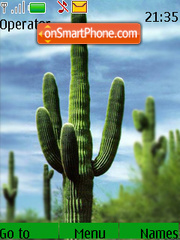 Cactus Tree theme screenshot