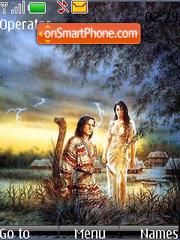 Скриншот темы Adam And Eve