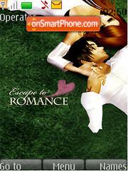 Escape to Romance Swf Clock theme screenshot