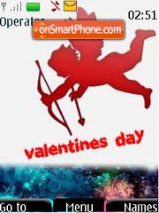 Evil Valentines Day theme screenshot