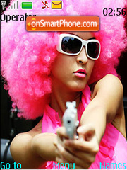 Gun Point Love tema screenshot