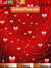 Heart Galaxy 2010 theme screenshot