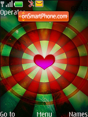 Love Circle theme screenshot