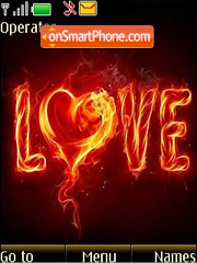 Love In Fire 2020 tema screenshot