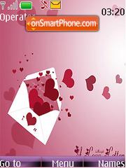 Love Letter Style theme screenshot