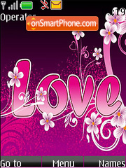 Love Style theme screenshot