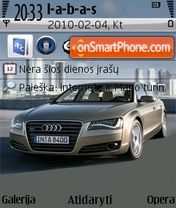 2011 Audi A8 Theme-Screenshot