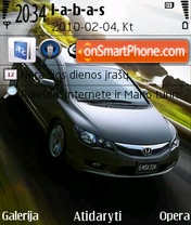 2009 Honda Civic Sedan theme screenshot