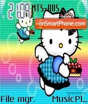 Hello Kitty 4 theme screenshot