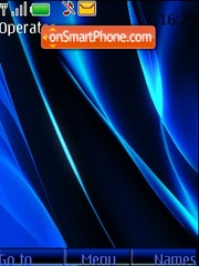 Blue Animated theme screenshot