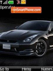 Nissan GTR R35 theme screenshot